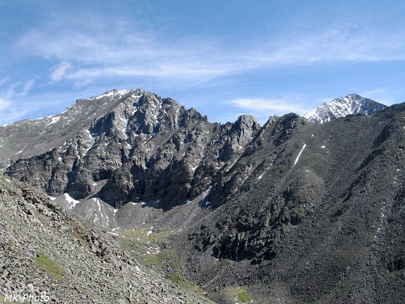 А впереди - типично альпийские