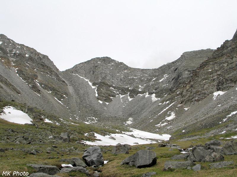 Седловины перевала