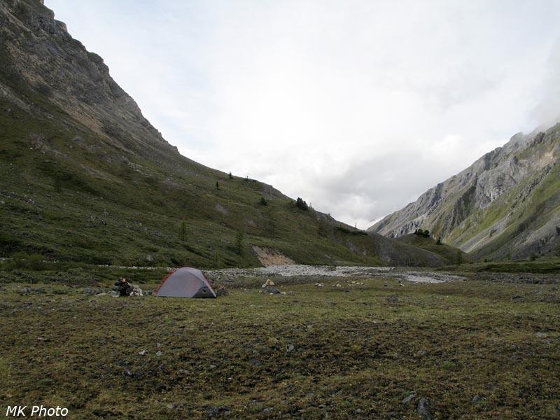 Очень одинокая палатка