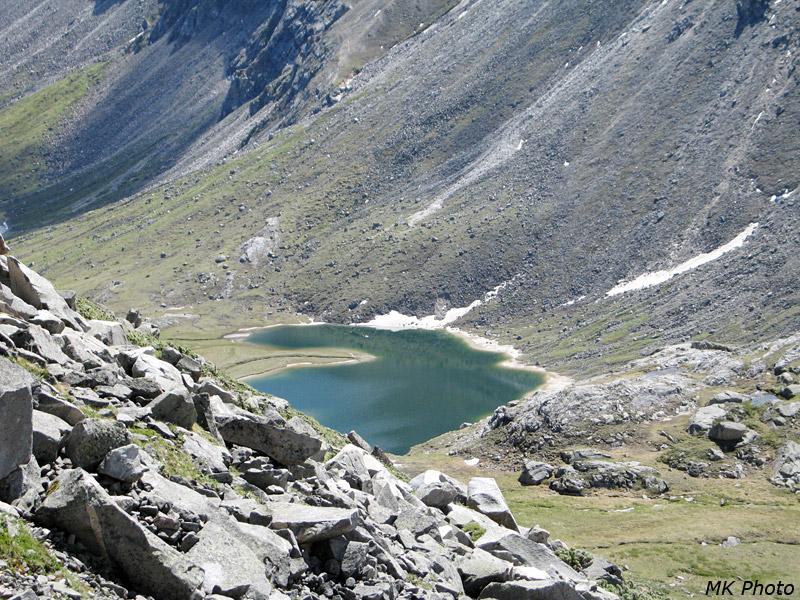 Верхнее озеро на Архате