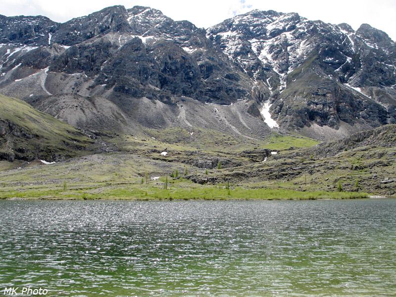 На нижнем озере