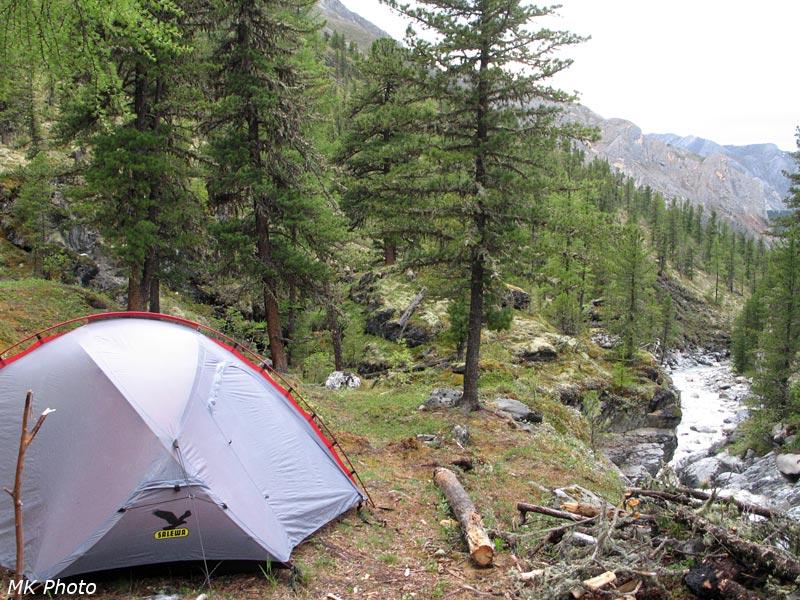 Палатка над Зун-Голом
