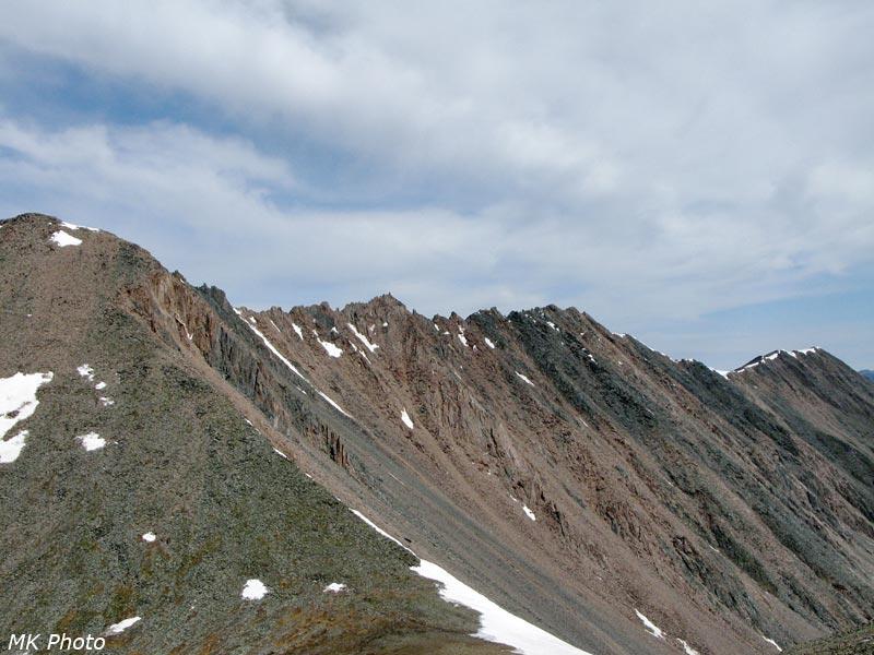 Горы в красном