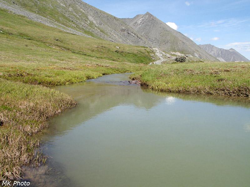 Белёсы воды Шумак-Гола