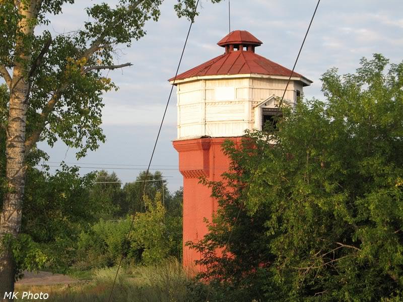 Водонапорная башня на ст. Кожурла