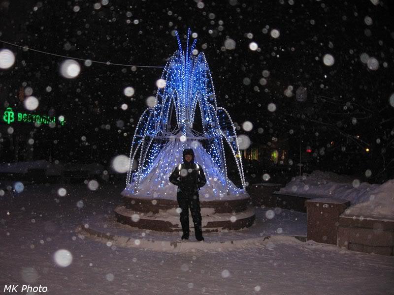 В центре Красноярска