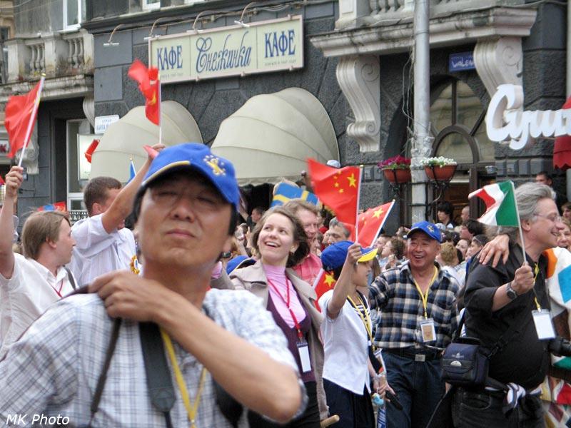 Итальянцы и китайцы
