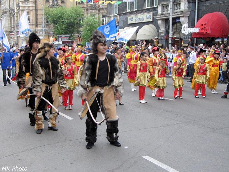 Воины-монголы