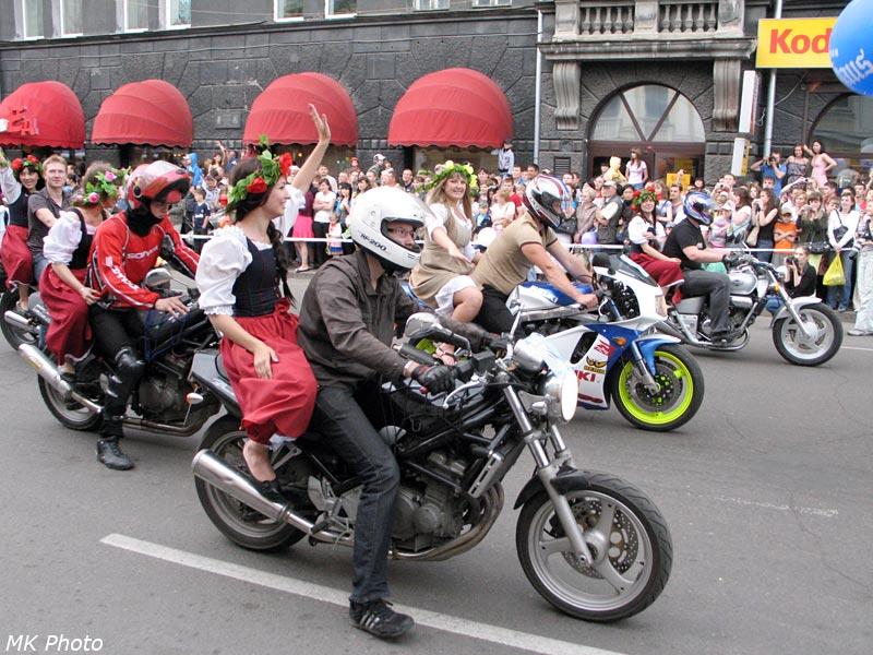 Ещё одни мотоциклисты