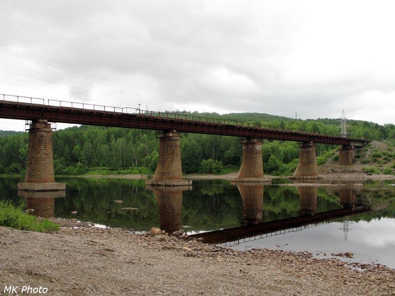 Мост через р. Тында на АЯМе