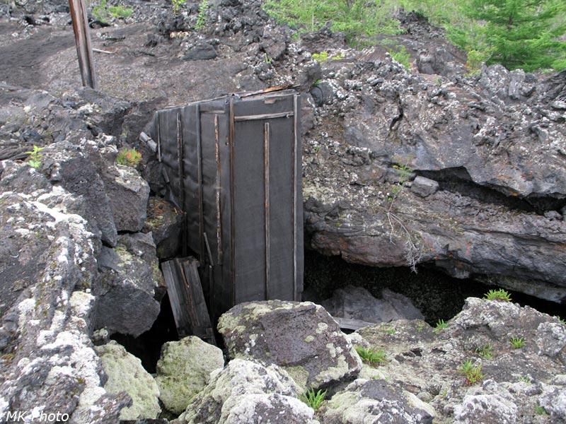 Оборудованный вход в пещеру