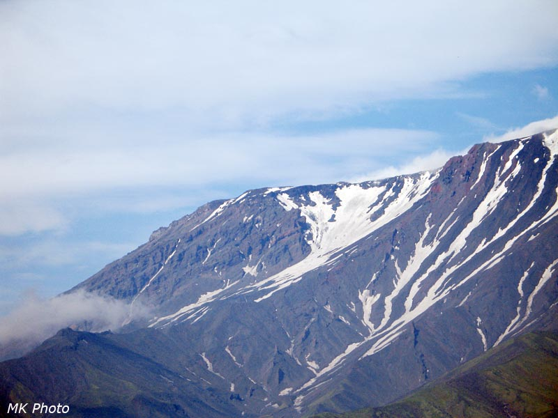 Вершина Плоского Толбачика