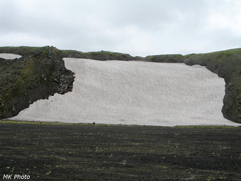 Снежник, сразу над ним - водораздел