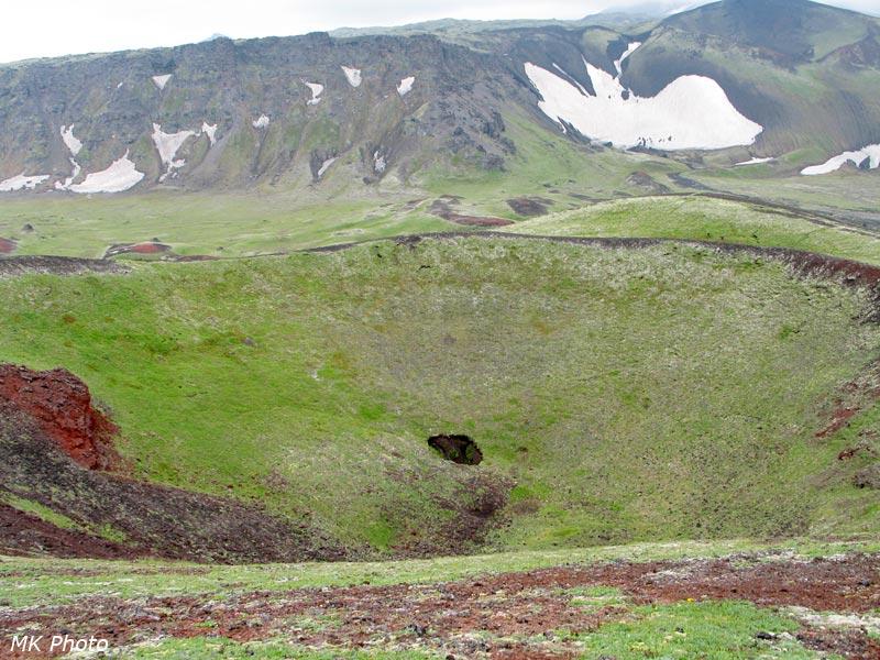 А вот и сам кратер