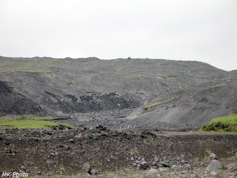 Моренные отложения на краю ледника Богдановича