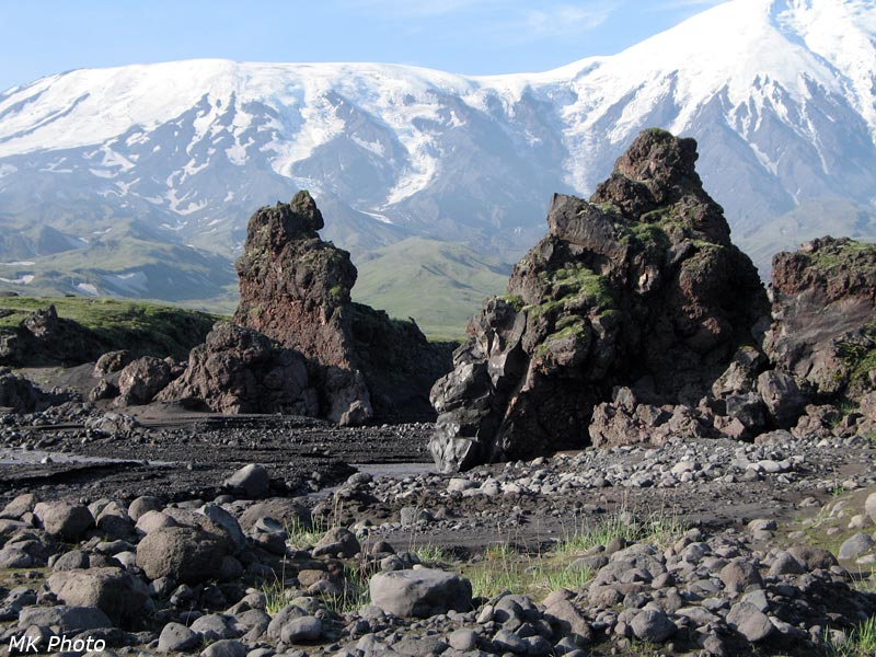 Скалы - предвестники каньона