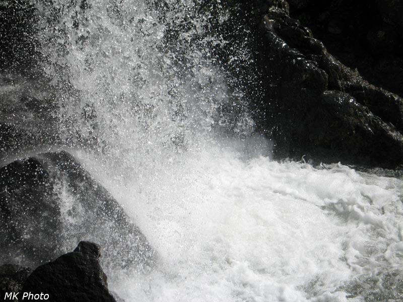 Водопад на руч. Бараний
