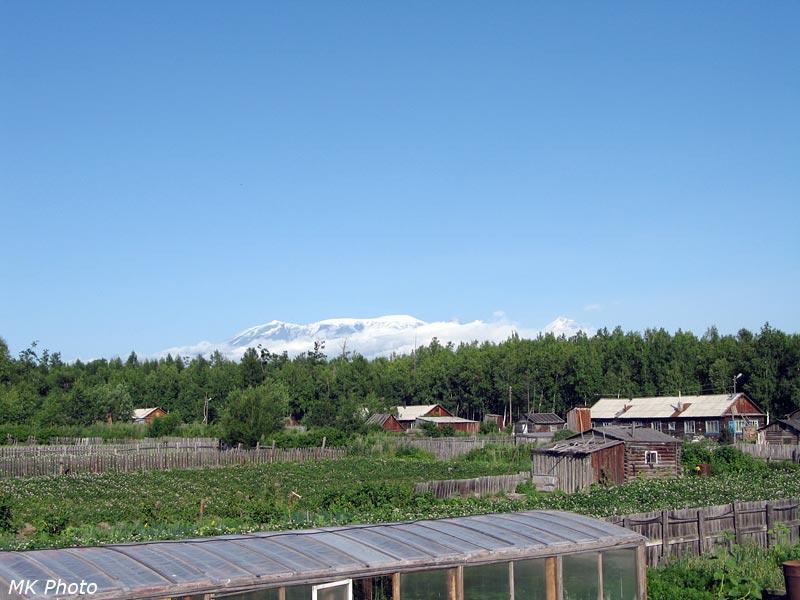 Вид из Козыревска