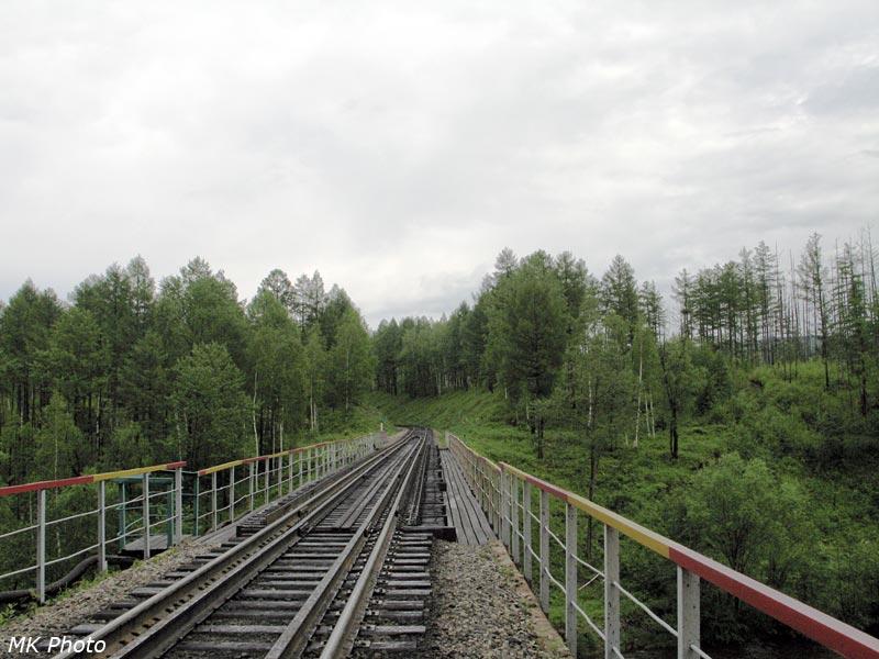 Мост через р. Яурин