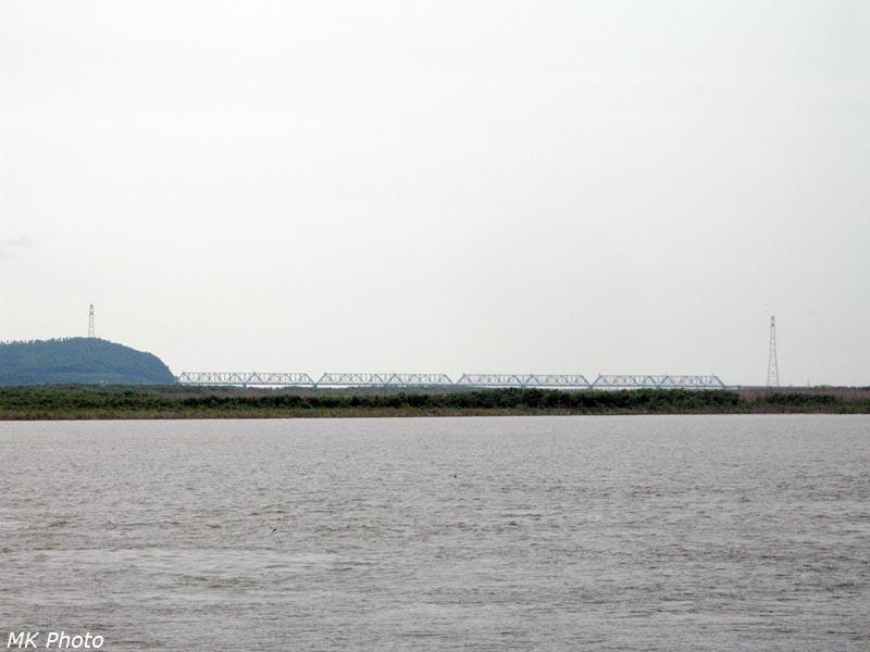 Совмещённый мост через Амур