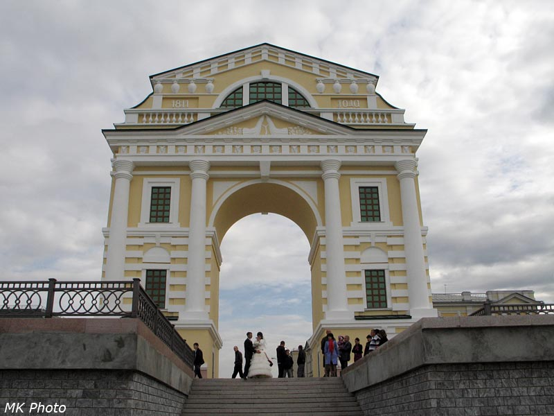 Московские ворота со стороны Ангары