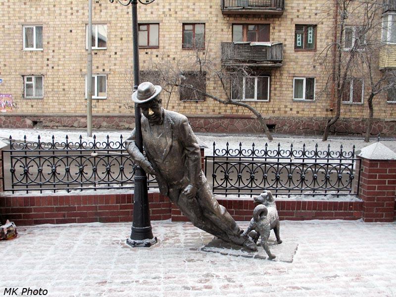 Пьяница и собачка