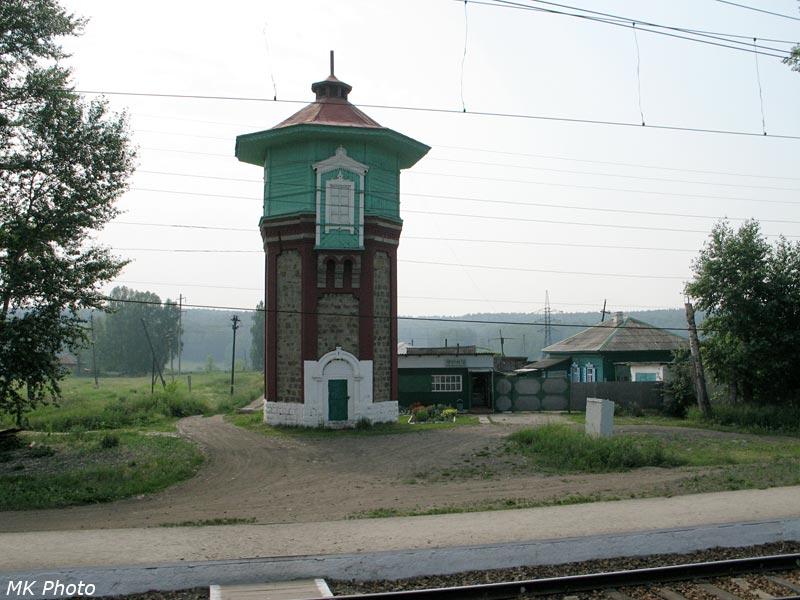 Водонапорная башня на ст. Чебула