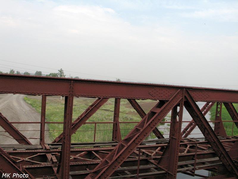 Мост через р. Чулым