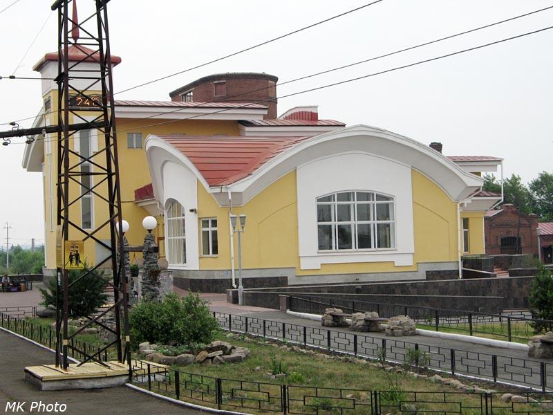 Вокзал Каргат