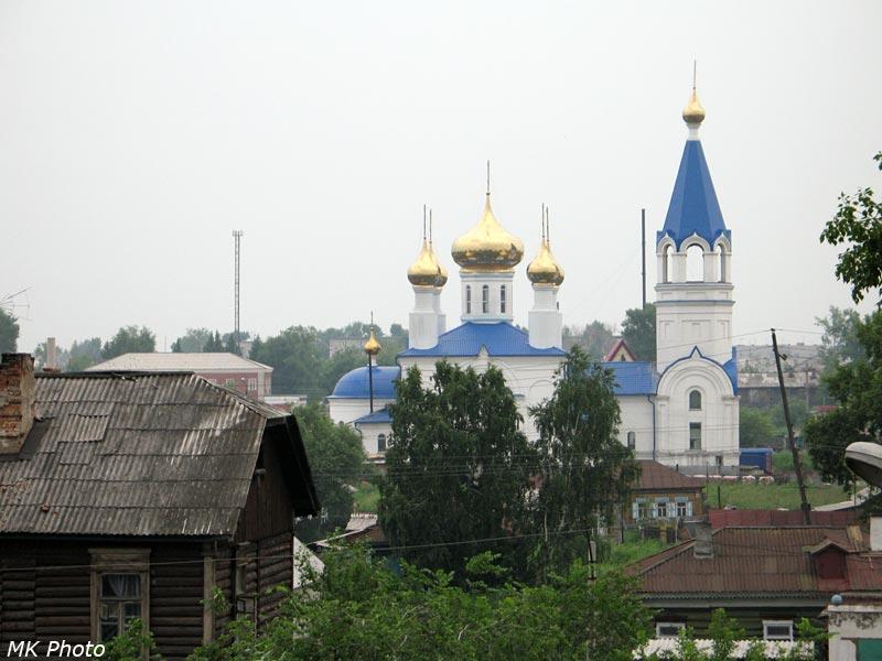 Скорбященская церковь в Барабинске