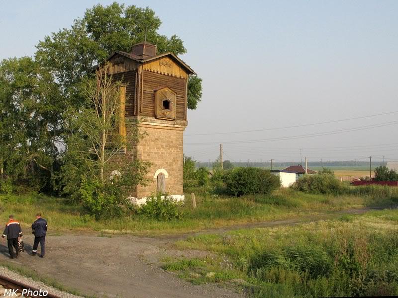 Водонапорная башня на ст. Логовушка