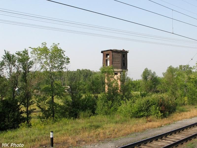 Водонапорная башня на ст. Сладкое