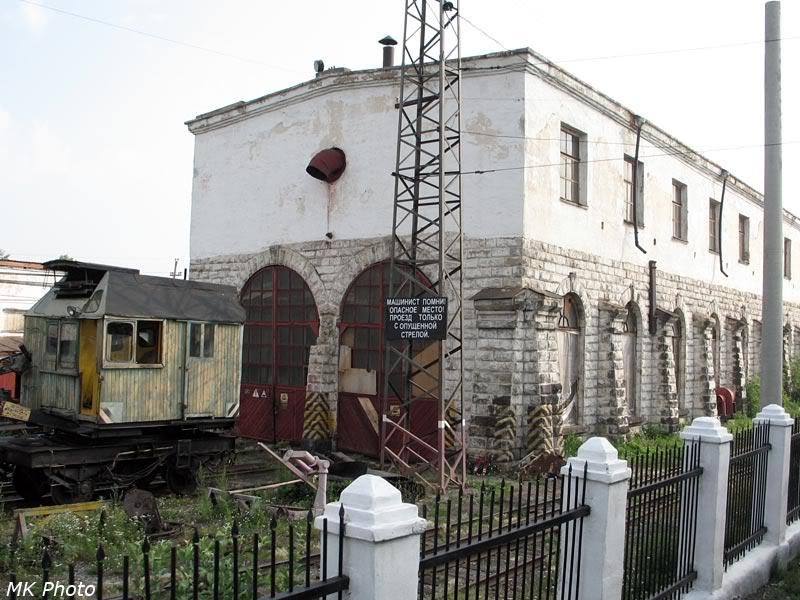 Старое депо в Шумихе