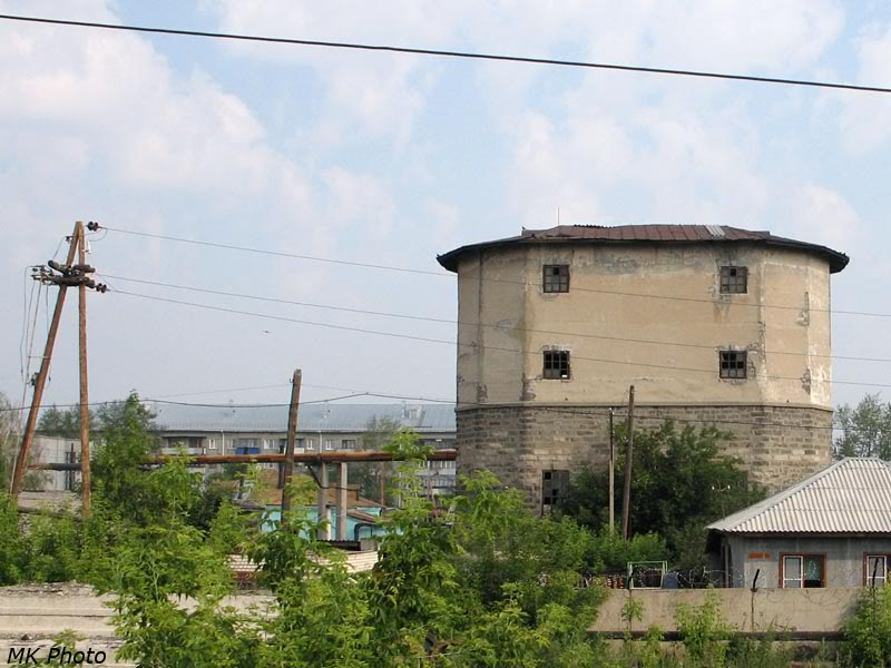 Водонапорная башня на ст. Шумиха