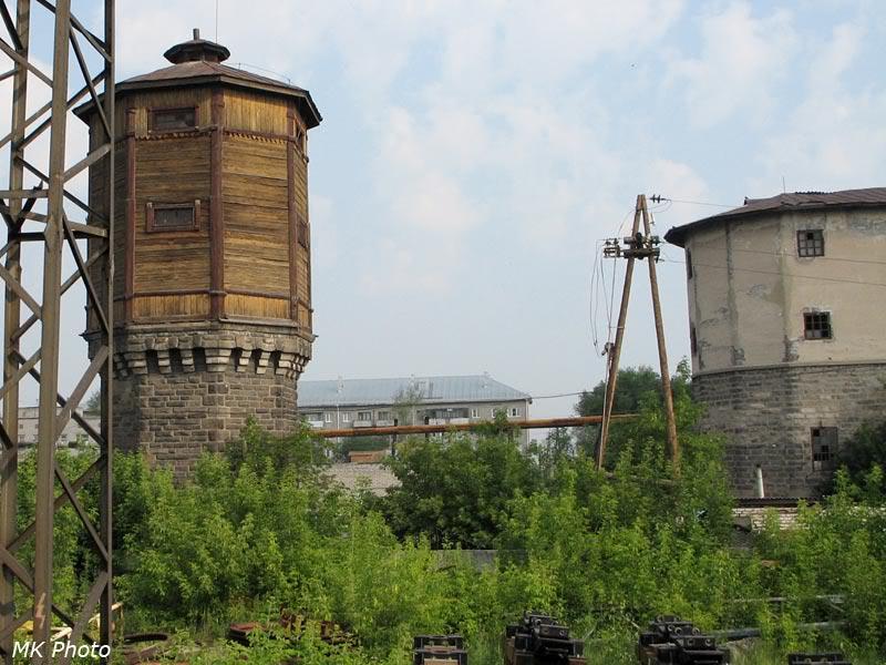 Водонапорные башни на ст. Шумиха