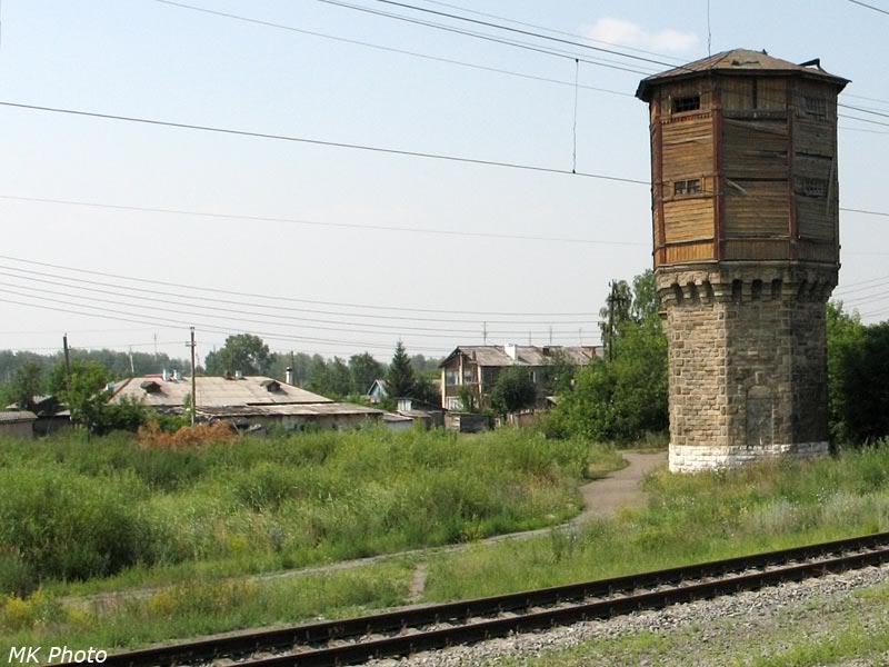 Водонапорная башня на ст. Чернявская