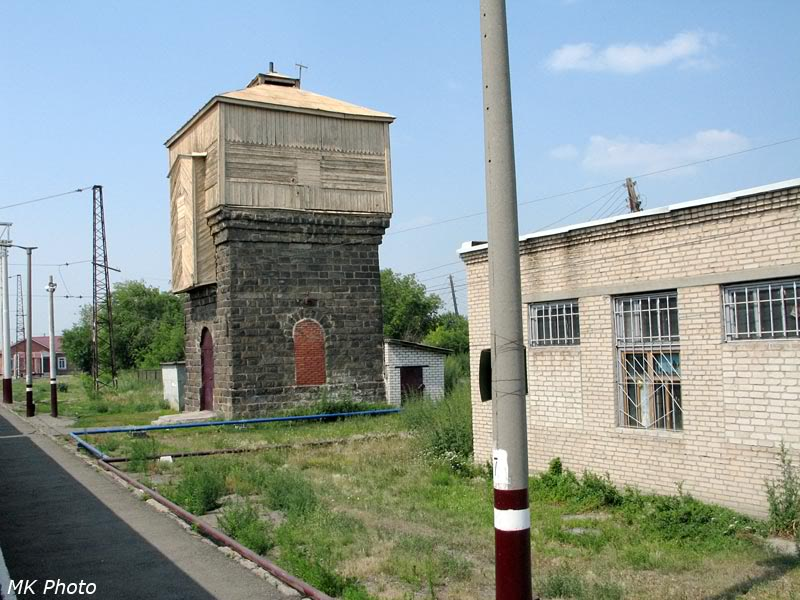 Водонапорная башня на ст. Козырево