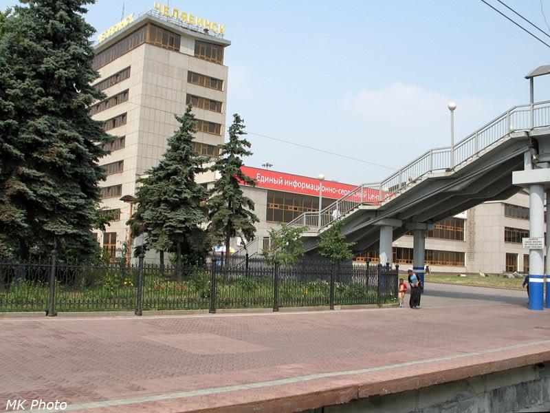 Вокзал с электрички