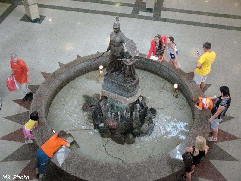 Выключенный фонтан