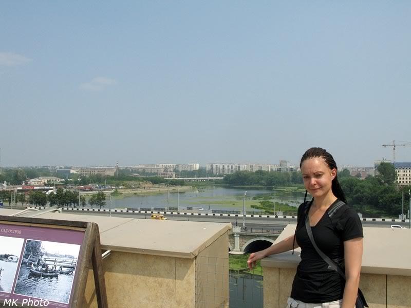 На крыше краеведческого музея