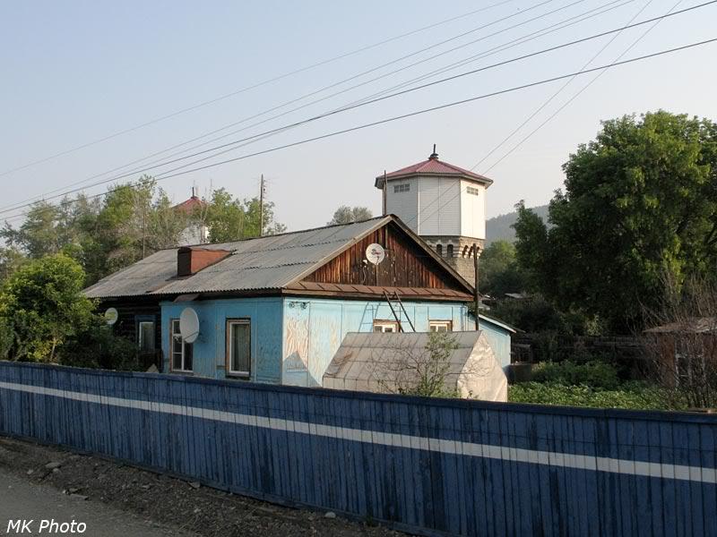 Водонапорная башня на ст. Миасс