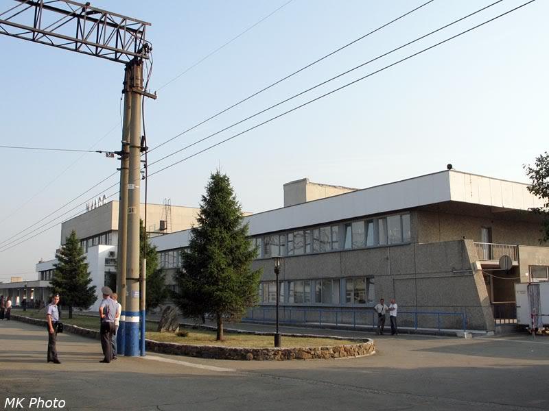Современный вокзал Миасс