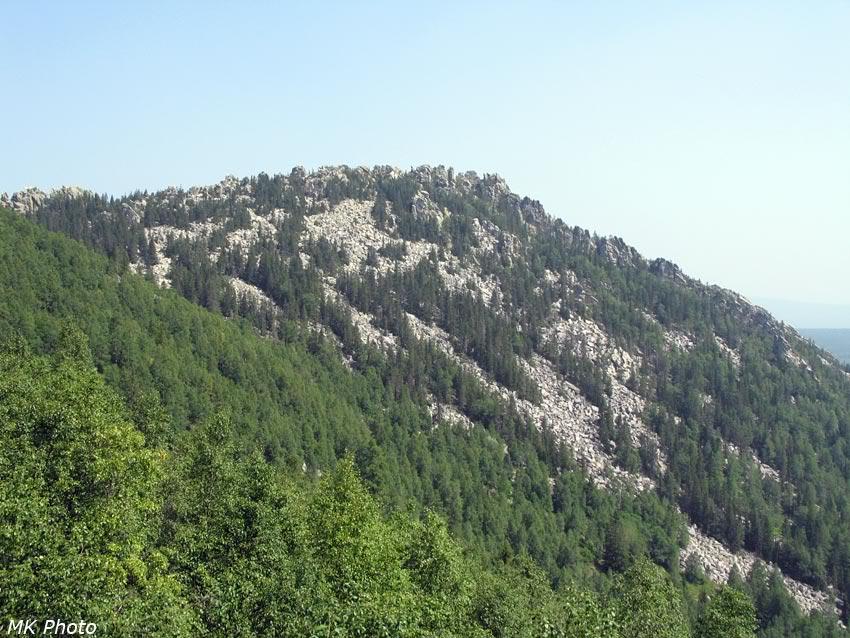 Склоны Большого Таганая