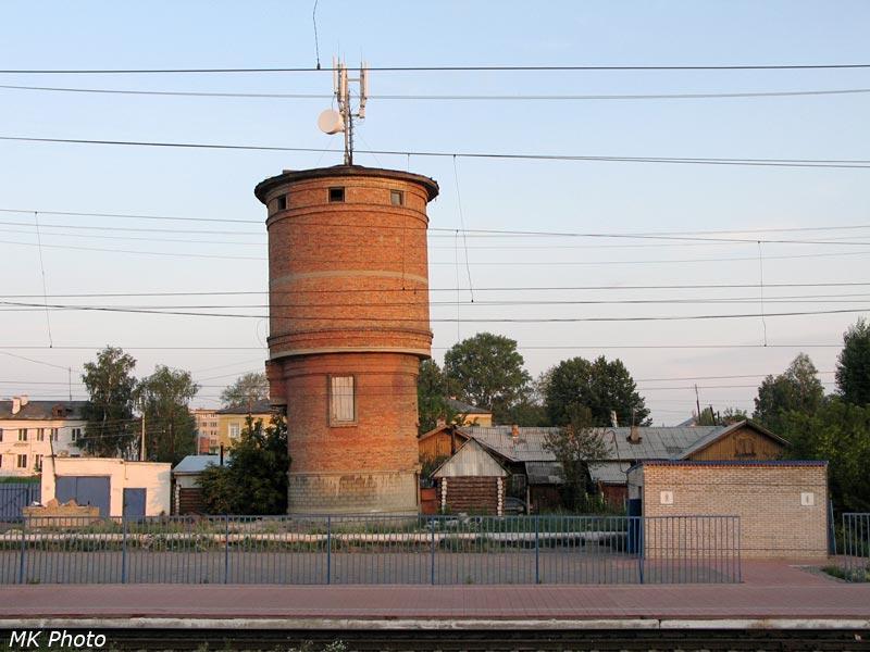 Водонапорная башня на ст. Кропачёво