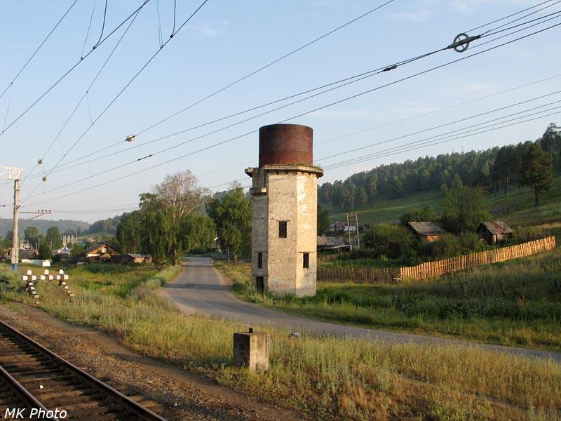 Водонапорная башня на ст. Симская