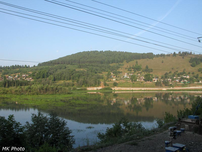 Миньярский пруд на р. Сим