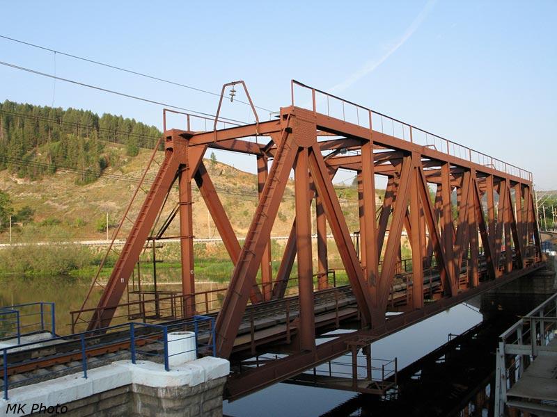 Мост через р. Сим