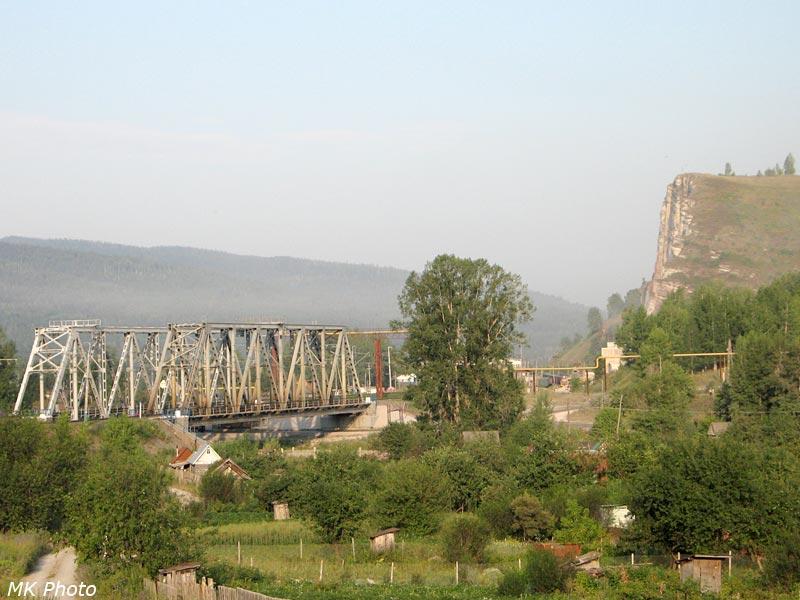 Мосты через р. Сим и обрывы в Миньяре
