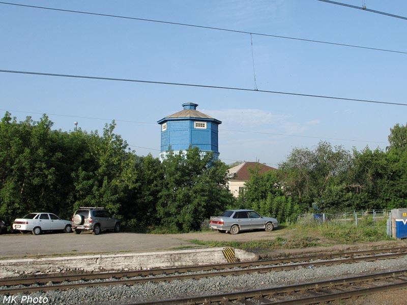 Водонапорная башня на ст. Аша