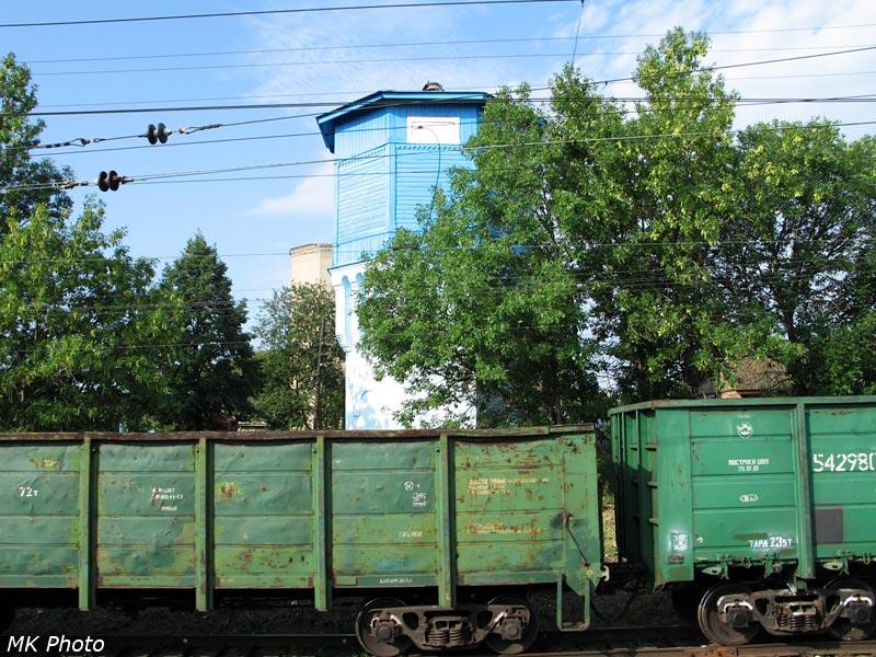 Водонапорная башня на ст. Тавтиманово